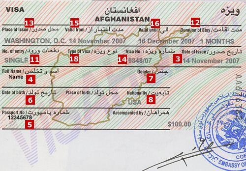 Afghanistan Visa Application Requirements Residents Of Germany Visahq