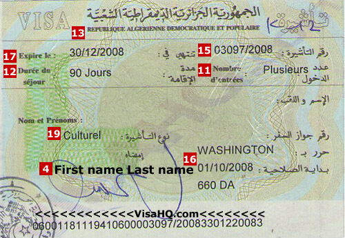 Algeria Visa Application Requirements Residents Of Germany Visahq