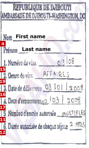 Djibouti Visa Application Form Dubai, Djibouti Visa, Djibouti Visa Application Form Dubai