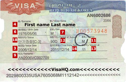 South Korea Visa Application Requirements Residents Of Germany Visahq