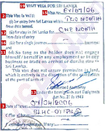 Sri Lanka Visa Application Requirements Residents Of Germany Visahq